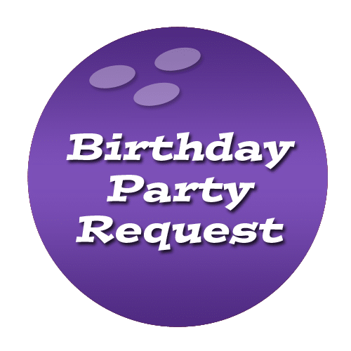 birthday party request button